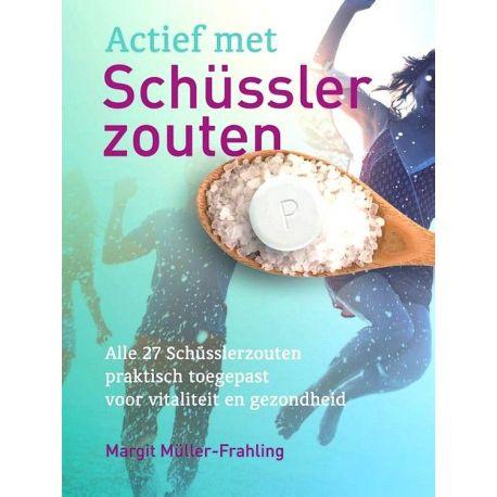 Actief met schusslerzouten - Margit Müller-Frahling  + Gratis pillendoosje