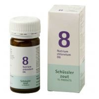 Nr. 8 Natrium chloratum D6 Schüsslerzout Pflüger