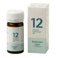 Nr. 12 Calcium sulfuricum D6 Schüsslerzout Pflüger