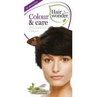 Dark brown 3 Colour & Care Hairwonder