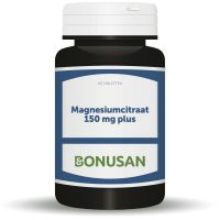 Magnesiumcitraat 150 mg plus Bonusan