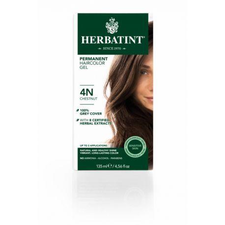 4N Kastanje Haarverf Herbatint