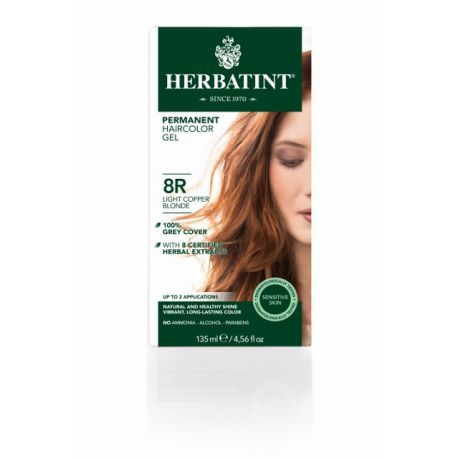 8R Lichtkoper Blond Haarverf Herbatint