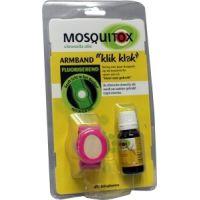 Mosquitox armband met etherische olie