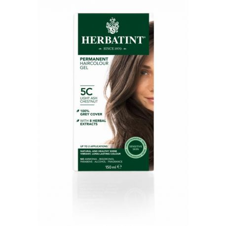 5C Light Ash Chestnut Haarverf Herbatint