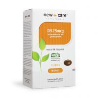 Vitamine D3 25 mcg New Care