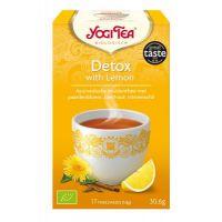 Detox met Citroen Yogi Tea