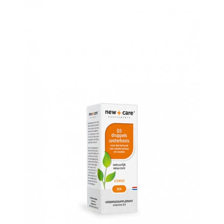Vitamine D3 druppels waterbasis New Care