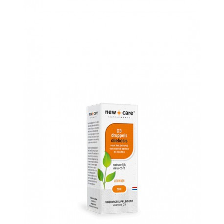 Vitamine D3 druppels oliebasis New Care