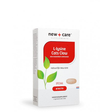 L-Lysine Cats Claw New Care