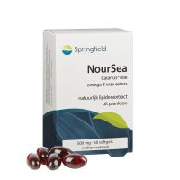 Noursea calanusolie omega 3 wax esters Springfield