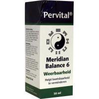 Meridian balance 6 weerbaarheid Pervital