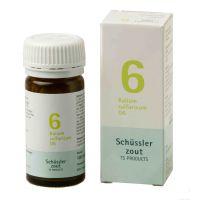 Nr. 6 Kalium sulfuricum D6 Schüsslerzout Pflüger