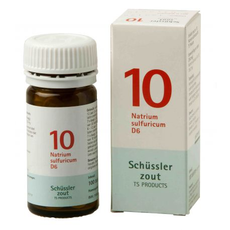 Nr.10 Natrium sulfuricum D6 Schüsslerzout Pflüger