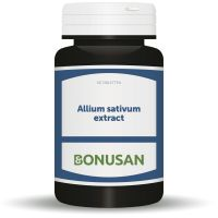 Allium sativum extract tabletten Bonusan