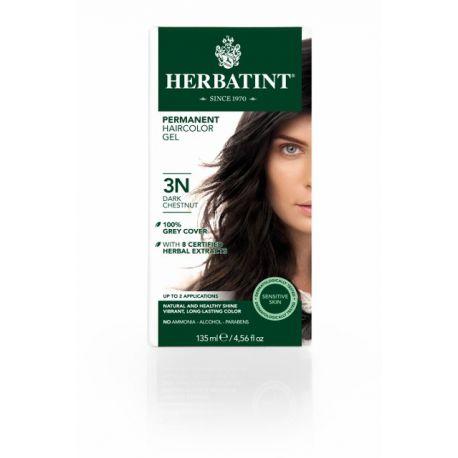 3N Donker kastanje Haarverf Herbatint