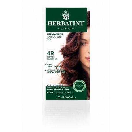 4R Koper Kastanje Haarverf Herbatint