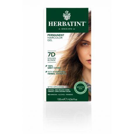 7D Goudblond Haarverf Herbatint