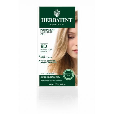 8D Lichtgoud Blond Haarverf Herbatint