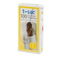 Theefilter t-sac kopje/glas maat 1
