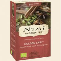 Golden Chai Spiced Assam Black Tea Numi